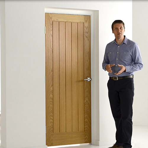 White Oak interior doors