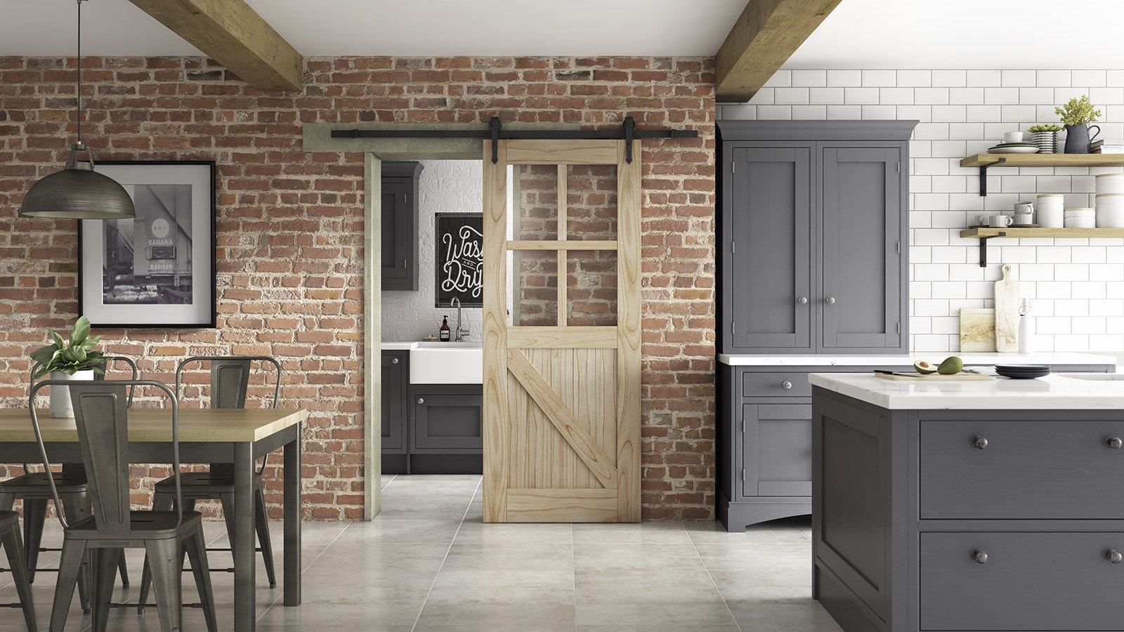 Create space with our Sliding Doors