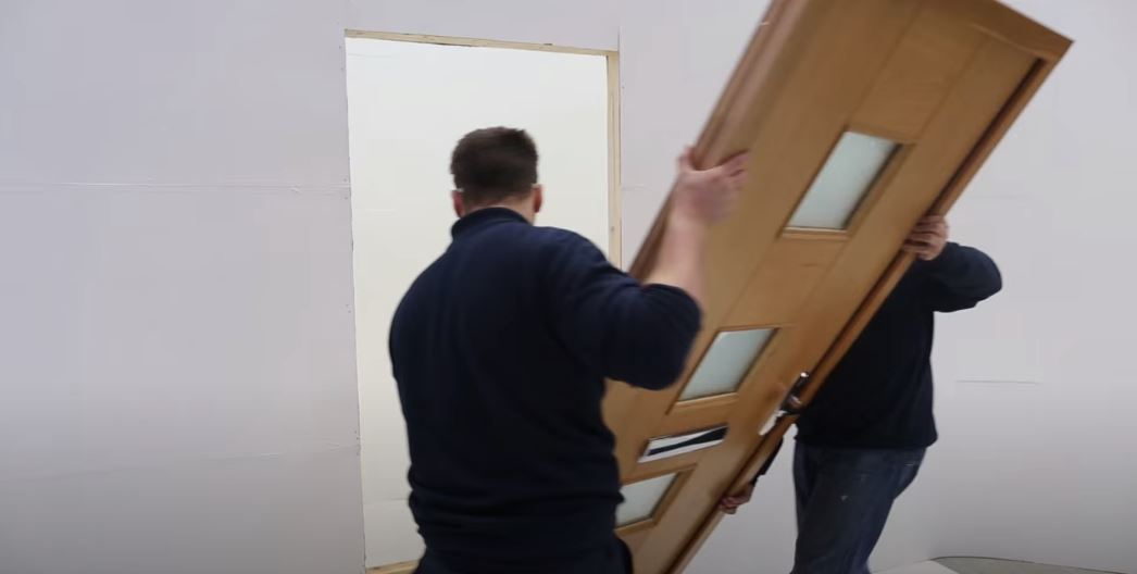 How to install an exterior doorset