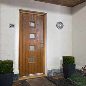 Instant kurb appeal with a new composite exterior door
